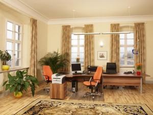 Ein repräsentatives Büro